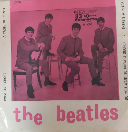 Compacto - The Beatles – Twist And Shout 1964