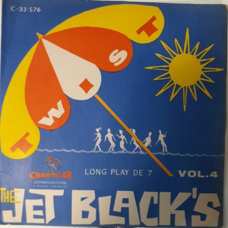 Compacto - The Jet Black's – Vol. 4 (1 - Riders In The Sky - 2 - Guitar Twist)