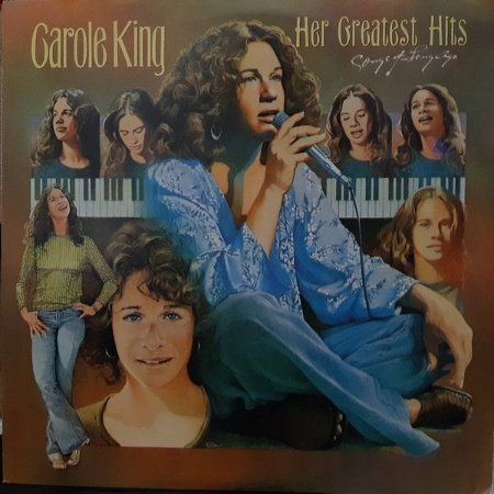 LP - Carole King – Her Greatest Hits - Songs Of Long Ago