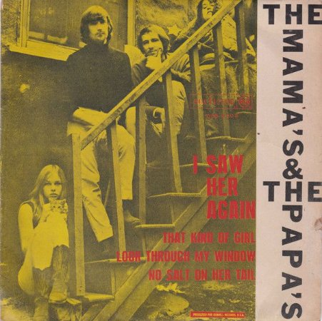 Comp - The Mamas & The Papas – I Saw Her Again / That Kind Of Girl / Look Through My Window / No Salt On Her Tail