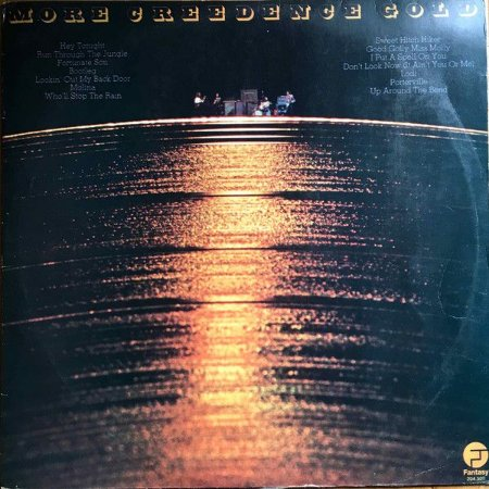 LP - Creedence Clearwater Revival – More Creedence Gold