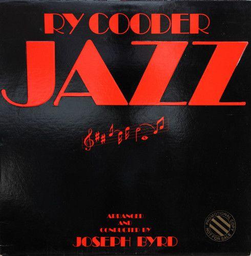 LP -  Ry Cooder – Jazz - Importado (US)