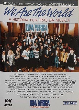 DVD - SA For Africa – We Are The World (A História Por Trás Da Música)