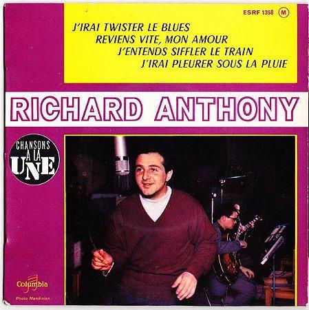 Compacto - Richard Anthony – J'irai Twister Le Blues