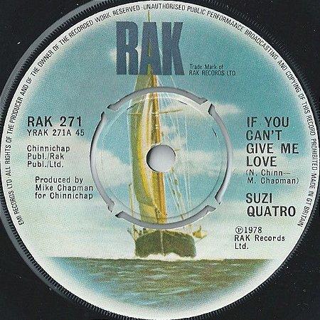 Compacto - Suzi Quatro – If You Can't Give Me Love