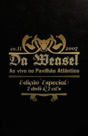 DVD - Da Weasel – Ao Vivo No Pavilhão Atlântico (dvd duplo) - IMP