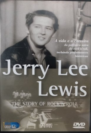 DVD Jerry Lee Lewis – The Sstory of Rock'in Roll