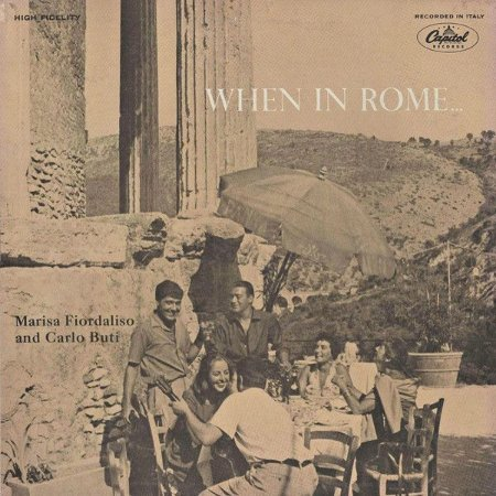 LP - Marisa Fiordaliso And Carlo Buti – When In Rome...