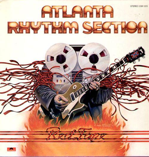 LP – Atlanta Rhythm Section – Red Tape