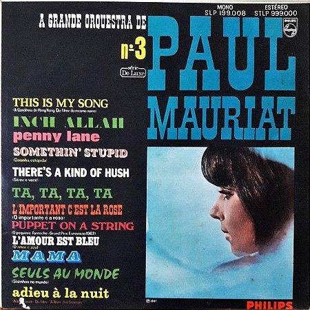 LP - A Grande Orquestra De Paul Mauriat – A Grande Orquestra De Paul Mauriat Nº. 3