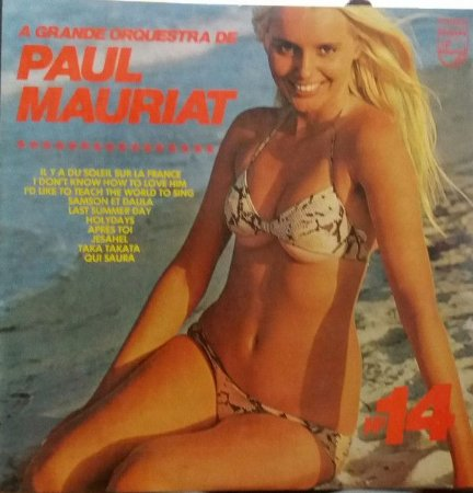 LP - A Grande Orquestra De Paul Mauriat – A Grande Orquestra De Paul Mauriat Nº. 14