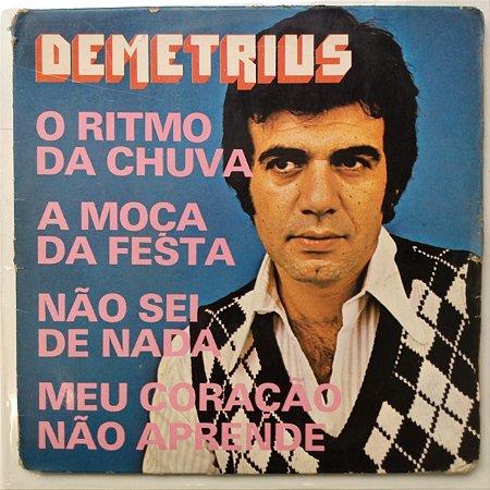 Compacto - Demetrius - O Ritmo da Chuva (4 Faixas)