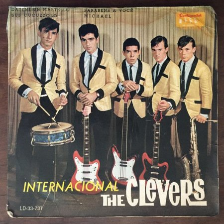 Compacto - The Clevers – The Clevers Internacional (4 faixas)