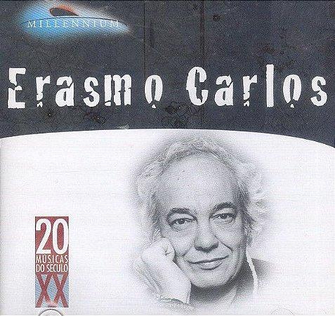 CD - Erasmo Carlos (Coleção Millennium - 20 Músicas Do Século XX)