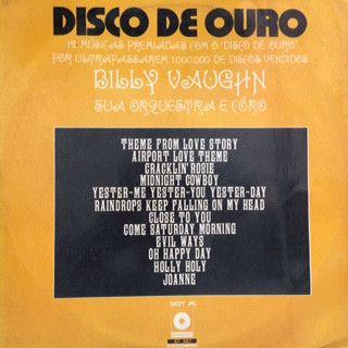 LP - Billy Vaughn – Disco De Ouro