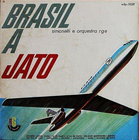 Lp - Simonetti E Orquestra RGE – Brasil A Jato