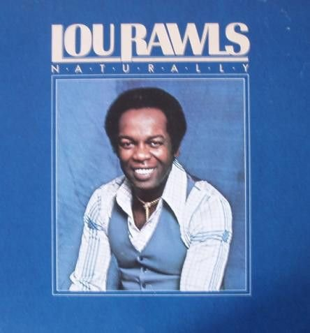 LP Lou Rawls ‎– Naturally - Importado (US)