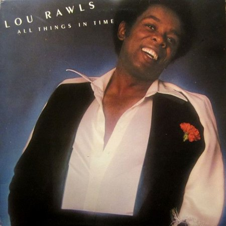 LP Lou Rawls – All Things In Time - Importado (US)