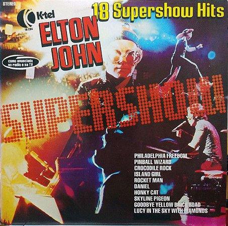 LP Elton John – 18 Supershow Hits