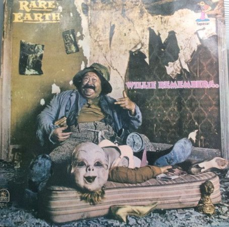 LP Rare Earth – Willie Remembers