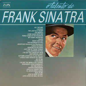 Lp - Frank Sinatra – O Talento De Frank Sinatra (DUPLO)