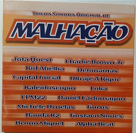 CD – Trilha Sonora de Malhação 2003 - Nacional