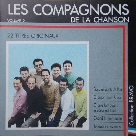 CD - Les Compagnons De La Chanson – Bravo Aux Compagnons De La Chanson