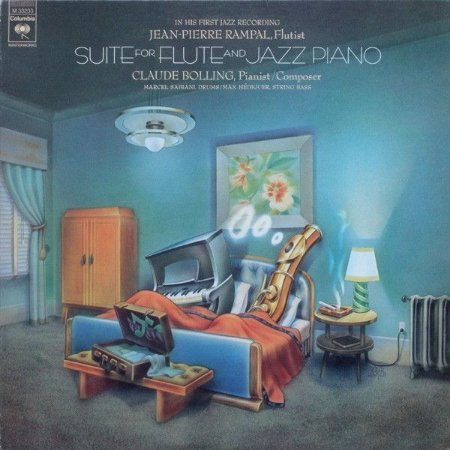 LP Jean-Pierre Rampal - Claude Bolling – Suite For Flute And Jazz Piano