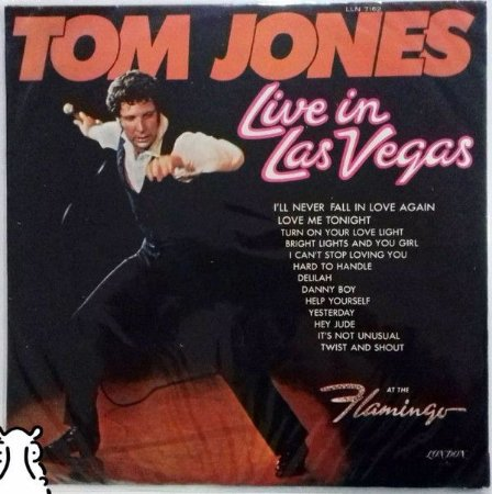 LP Tom Jones – Live In Las Vegas