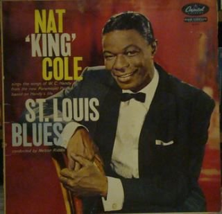 LP Nat King Cole – St. Louis Blues - Importado (US)