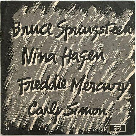 COMPACTO - Pepsi Is Music - Bruce Springsteen / Freddie Mercury / Nina Hagen / Carly Simon