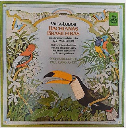 LP - Villa-Lobos - Orchestre De Paris, Paul Capolongo – Bachianas Brasileiras