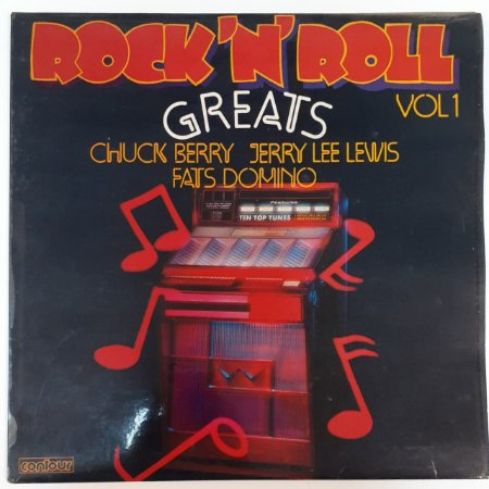 LP - Rock 'N' Roll Greats Vol 1 (Importado (England))