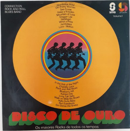 LP - Connection Rock And Roll Blues Band – Disco de Ouro