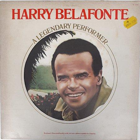 LP - Harry Belafonte – A Legendary Performer (Importado (England))