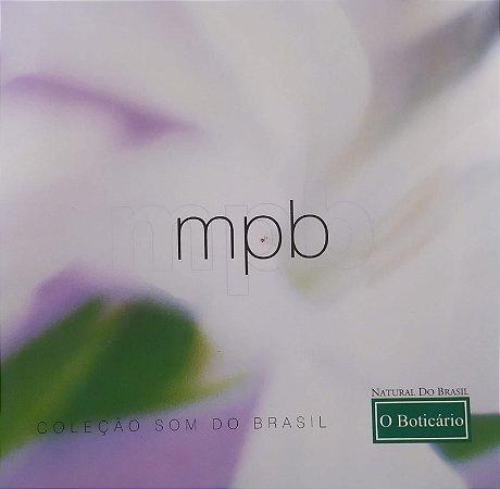 CD - MPB Coleção Som do Brasil (Coleção O Boticário) (Vários Artistas)