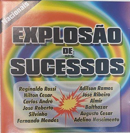CD - Explosão de Sucessos Nacional (Vários Artistas)