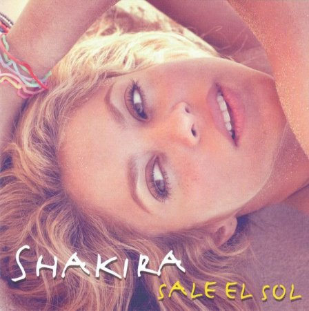CD - Shakira – Sale El Sol