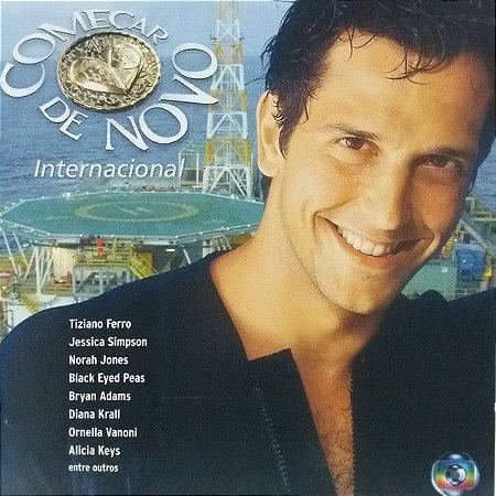 CD - Começar De Novo Internacional (Novela Globo) (Vários Artistas)