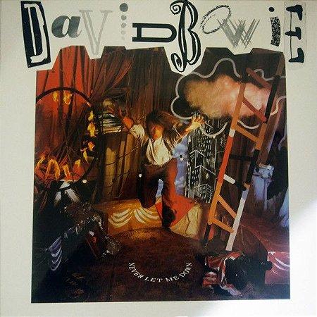 LP - David Bowie – Never Let Me Down (Novo - Lacrado) IMPORTADO