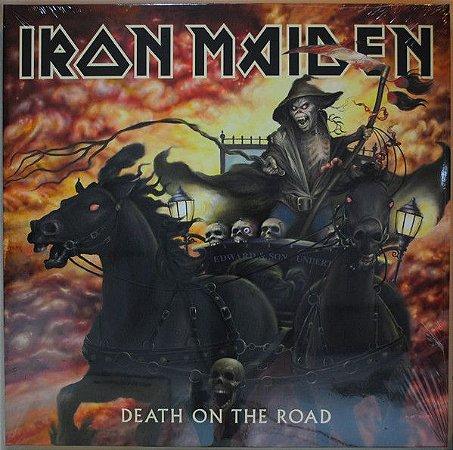 LP - Iron Maiden – Death On The Road (Novo - Lacrado) - IMPORTADO  - 2 discos