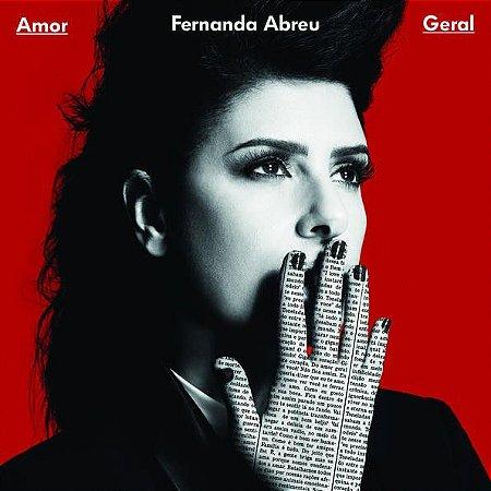 CD - Fernanda Abreu – Amor Geral