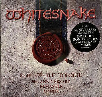 CD - Whitesnake – Slip Of The Tongue (Novo - Lacrado) remasterizado