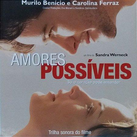 CD - Amores Possíveis (Trilha Sonora Do Filme) (Vários Artistas)