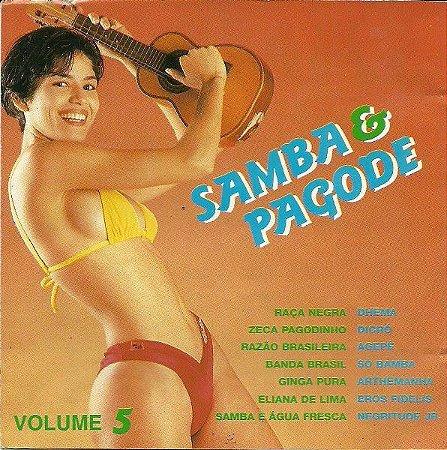 CD – Samba & Pagode Volume 5 (Vários Artistas)