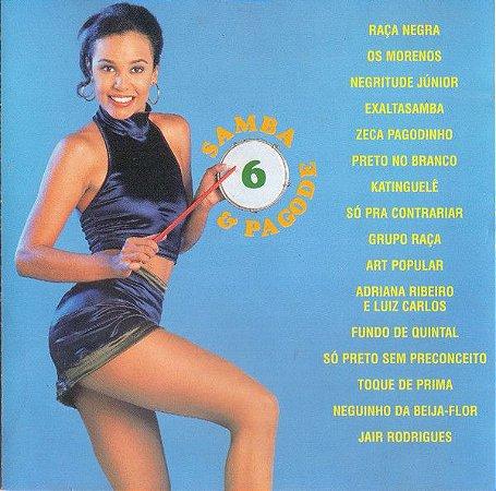 CD – Samba & Pagode Volume 6 (Vários Artistas)