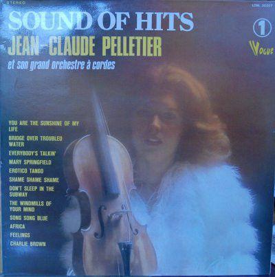 LP - Jean-Claude Pelletier Et Son Grand Orchestre A Cordes – Sound Of Hits - Vol. 1 - Importado (France)