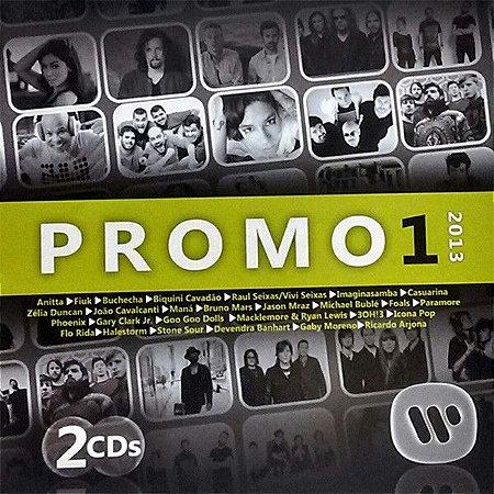 CD - Promo 1 2013 Warner Music (Vários Artistas) (Duplo)