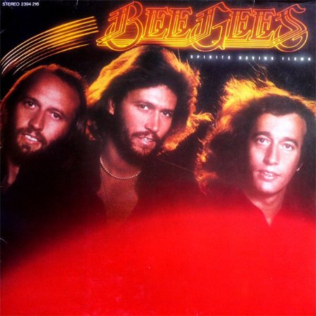 LP - Bee Gees – Spirits Having Flown