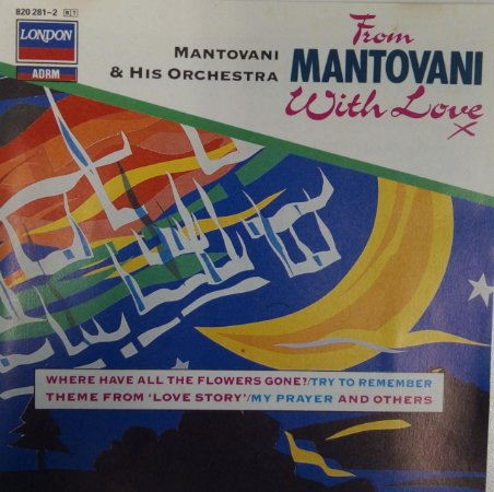 CD - Mantovani And His Orchestra - From Mantovani With Love